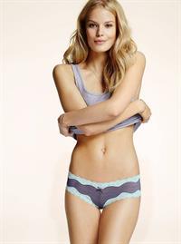 Alena Blohm in lingerie