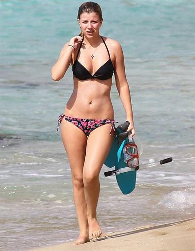 Stephanie Bongiovi in a bikini