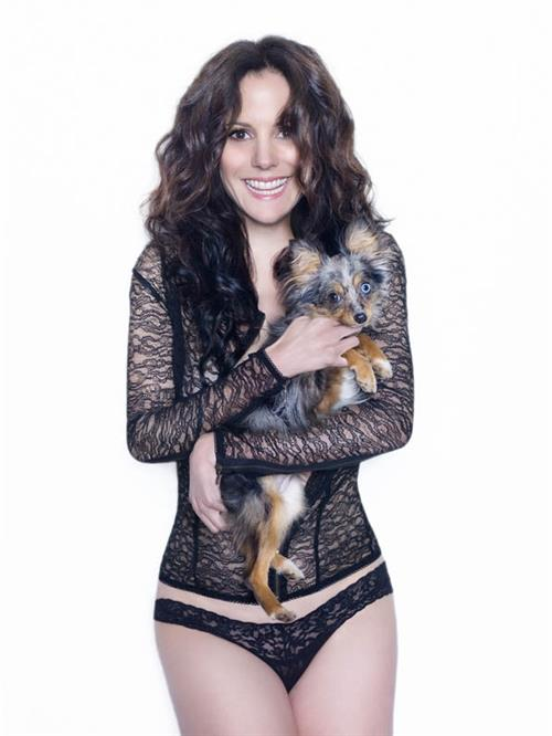 Mary-Louise Parker in lingerie