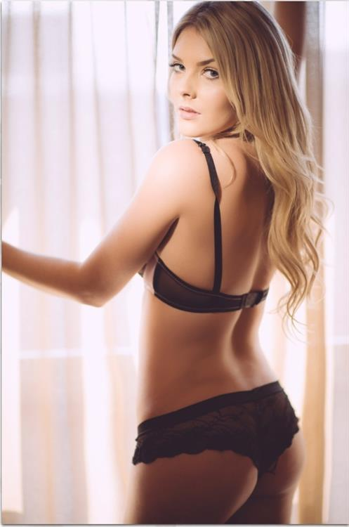 Sarah Louise Harris in lingerie - ass