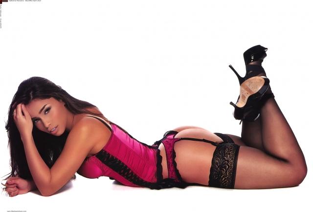 Katherine Monsalve in lingerie
