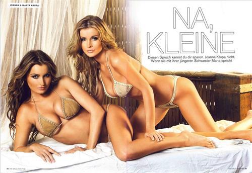 Marta Krupa in a bikini