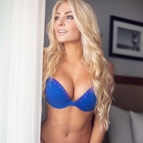 Brooke Evers in a bikini