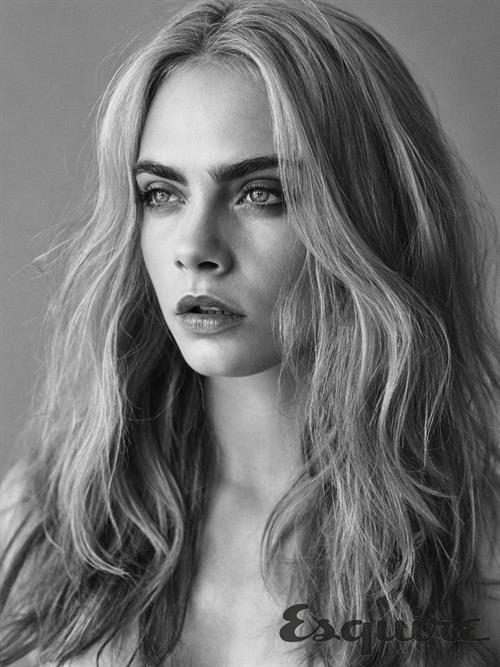 Cara Delevingne nude for Esquire September 2016