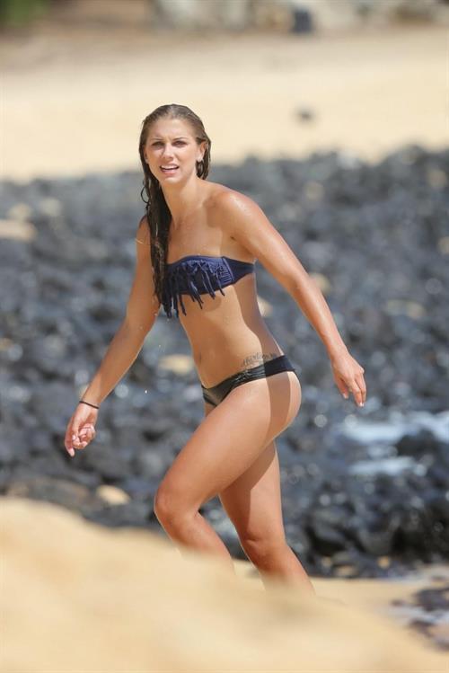 Alex Morgan in a bikini
