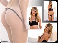 Lauren Clare in lingerie - ass
