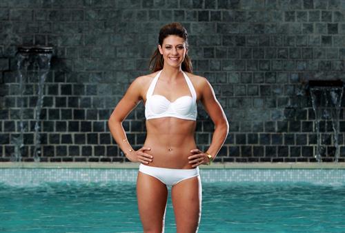 Stephanie Rice in a bikini