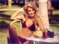 Heather Thomas in a bikini