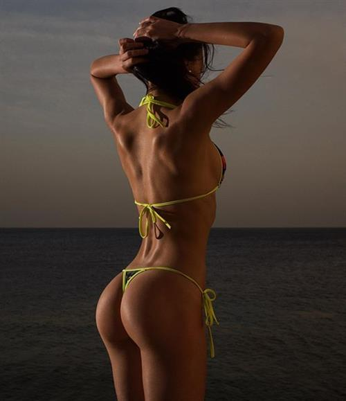 Galina Dubenenko in a bikini - ass
