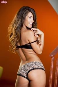 Eva Lovia in lingerie - ass