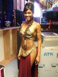 Lanisha Cole in a bikini