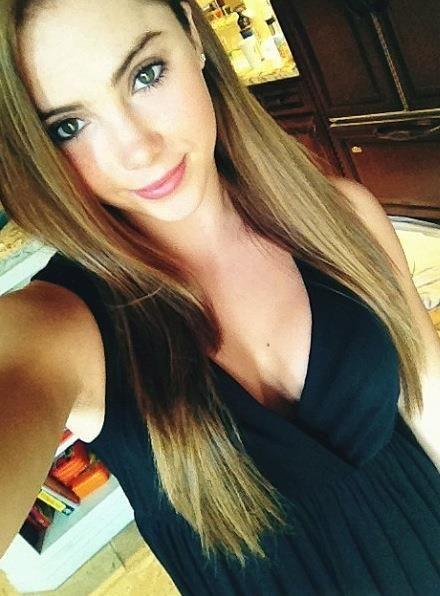 McKayla Maroney taking a selfie