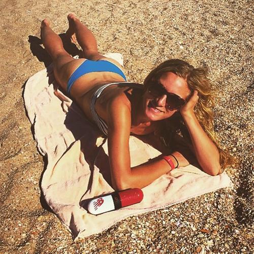 Emma Coburn in a bikini - ass