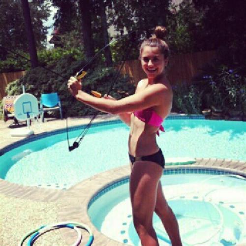 Kassidy Cook in a bikini