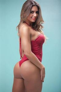 Graciella Carvalho in a bikini - ass