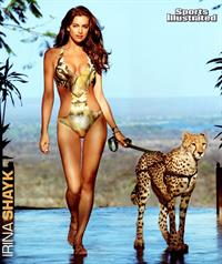Irina Shayk in lingerie