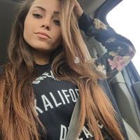 Melanie Pavola taking a selfie