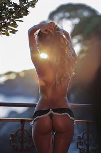 Susanna Canzian in a bikini - ass