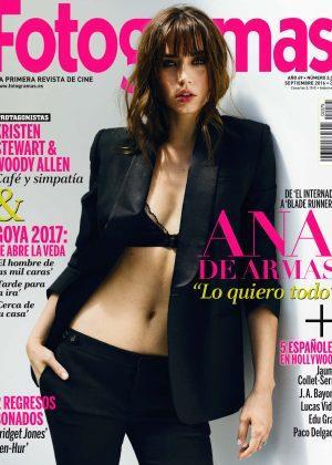 Ana de Armas Fotogramas Spain 2016