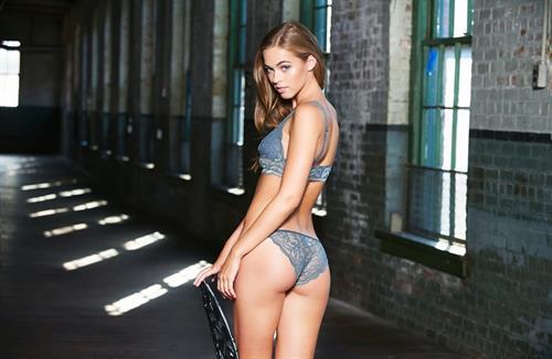 Caroline Kelley in lingerie - ass