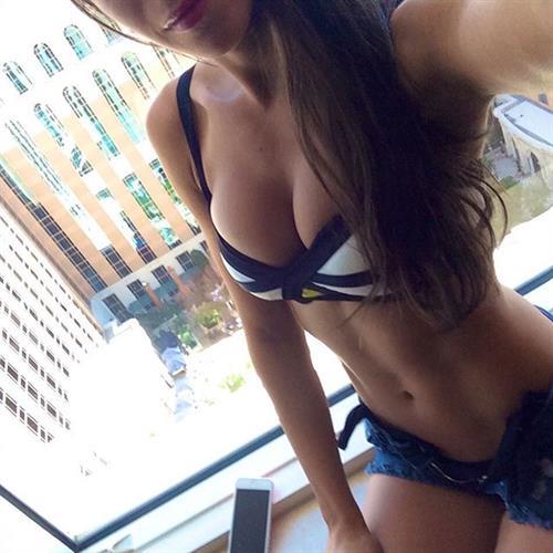 Jen Selter in a bikini taking a selfie