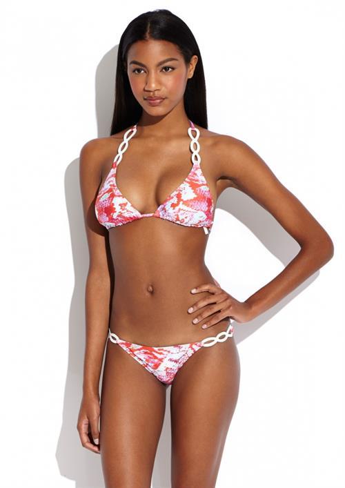 Ebonee Davis in a bikini