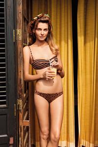 Alina Baikova in a bikini