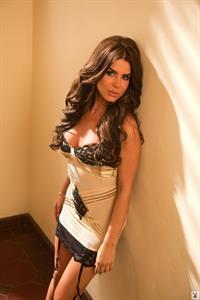 Tishara Lee Cousino in lingerie