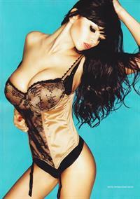 Sha Rizel in lingerie