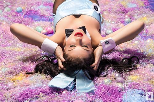 Amanda Cerny as the Easter Bunny for Playboy