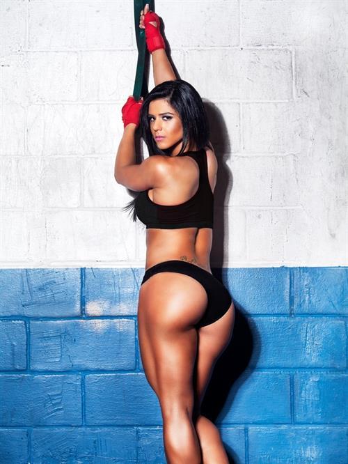 Eva Andressa in a bikini - ass