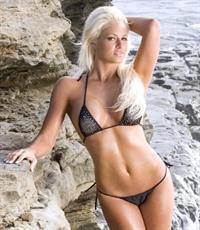 Maryse Ouellet in a bikini