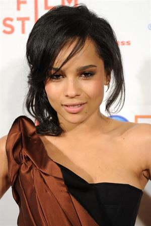 Zoe Kravitz at the Beware the Gonzo premiere