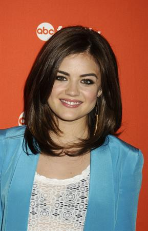 Lucy Hale - 2012 ABC Family Upfront