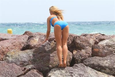 Amy Willerton in a bikini - ass