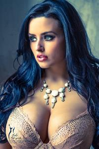 Abigail Ratchford in lingerie