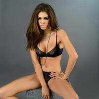Silvia Dimitrova in lingerie
