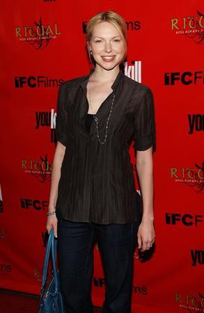 Laura Prepon At You Kill Me Premiere, June 11