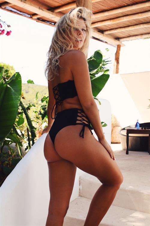 Natasha Oakley in a bikini - ass