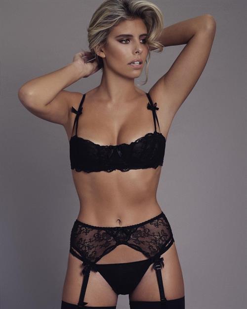 Natasha Oakley in lingerie