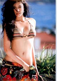 Nidhi Sunil in a bikini