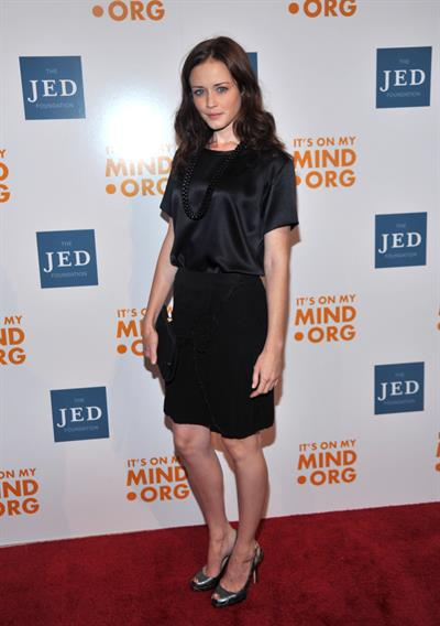 Alexis Bledel at the Jed Foundation's 9th Annual Infinite Possibilities Gala October 6, 2010