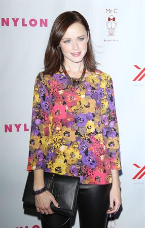 Nylon Magazine September TV Issue Launch party in Beverly Hills Sept 15, 2012
