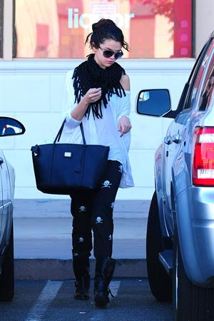 Selena Gomez out and about in Encino 1/13/13