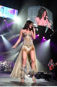 Selena Gomez performing at the 1st Bank Center Denver, September 4, 2011
