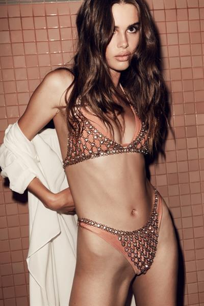 Zoe Mantzakanis in a bikini
