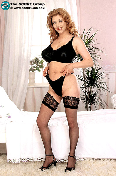 Ruth Tyler in lingerie