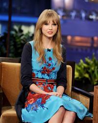 Taylor Swift the Tonight Show with Jay Leno February 20, 2012