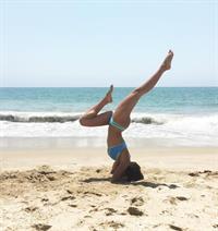 Kylie Bunbury in a bikini