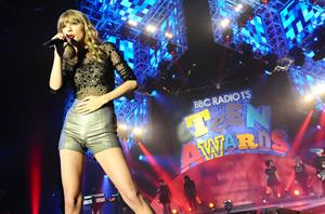 Taylor Swift - BBC Radio 1's Teen Awards in London 10/07/12